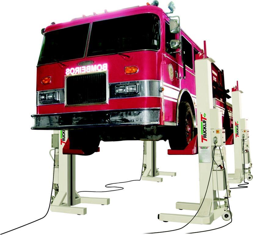 Plataforma Elevadora Trucklift otimiza manutenção na Expresso Embaixador