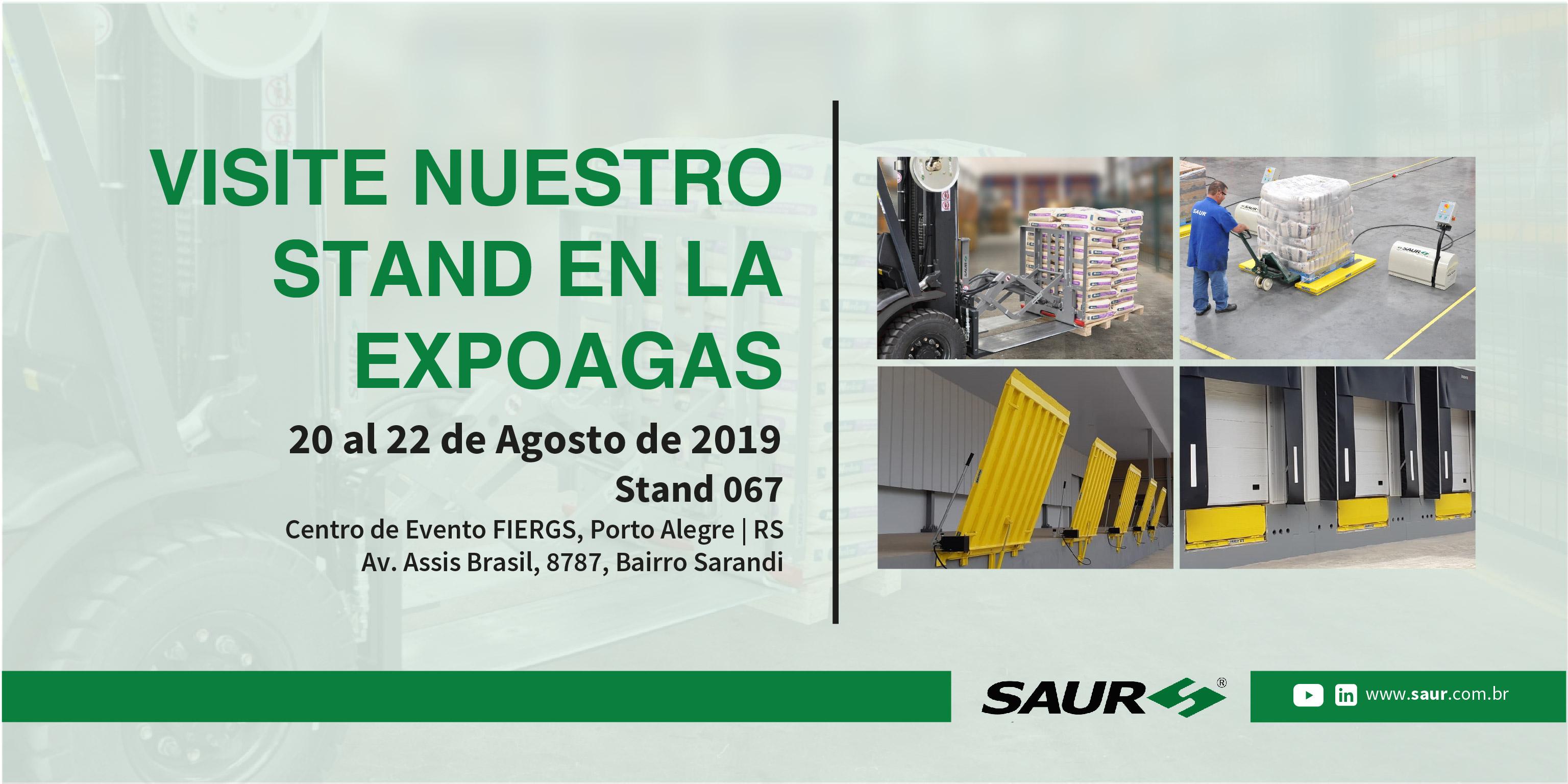 VISITE NUESTRO STAND EN LA EXPOAGAS 2019
