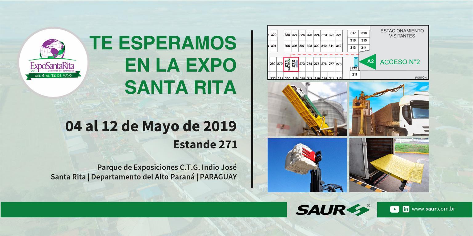 VISITE NOSOTROS EN LA EXPO SANTA RITA 2019