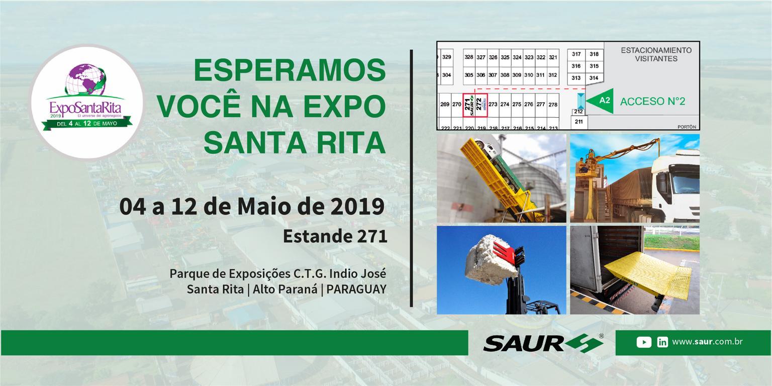 Visite-nos na EXPO SANTA RITA 2019