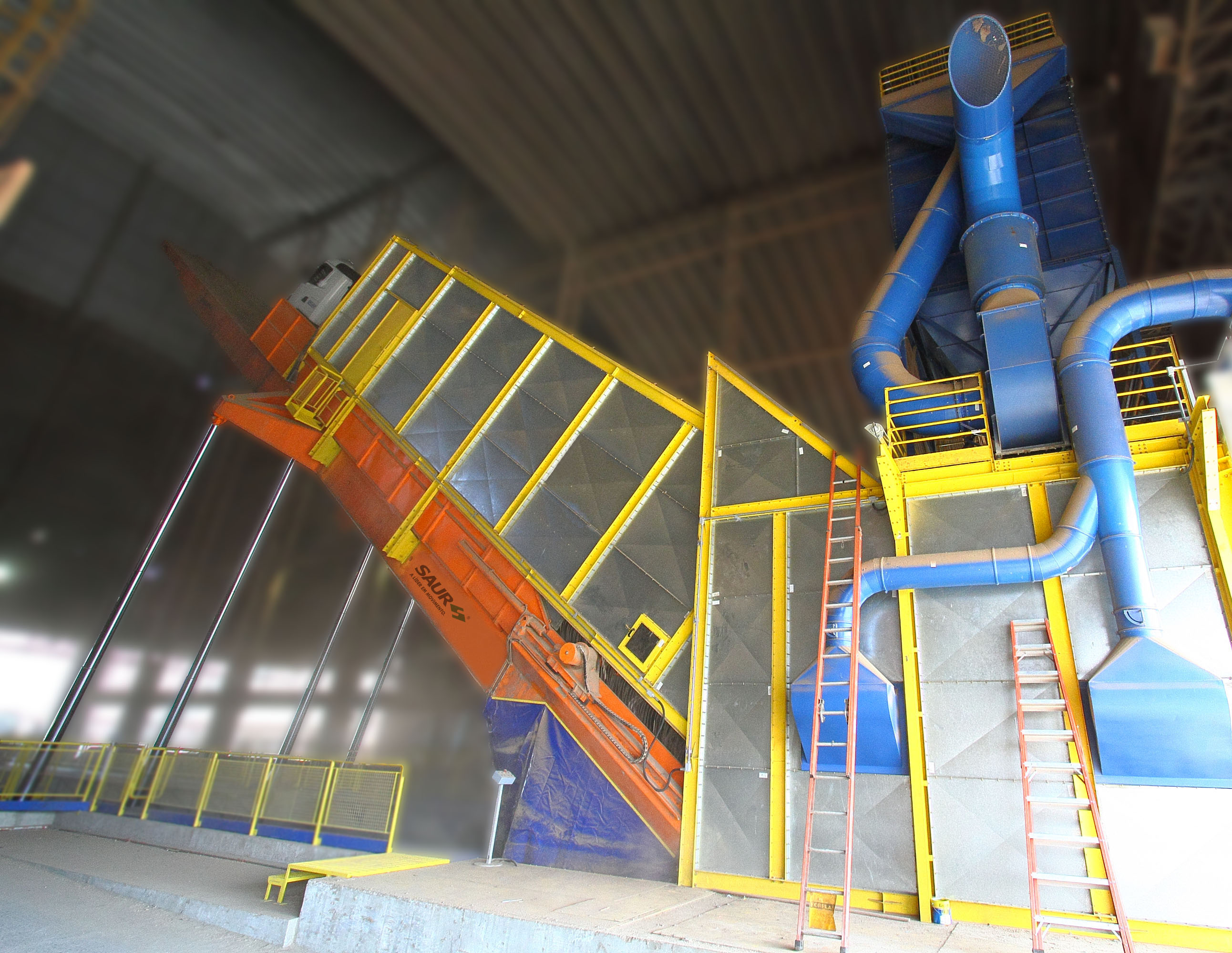 Primeira Plataforma de Descarga para Granéis de 30 metros SAUR entra em operação na Cotriguaçu
