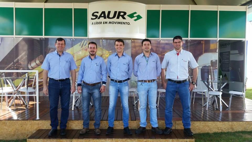 SAUR apresenta tecnologia para o recebimento de granéis na Expodireto