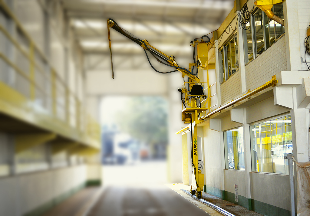 Tecnologia dos equipamentos SAUR: eficiência no recebimento no de granéis