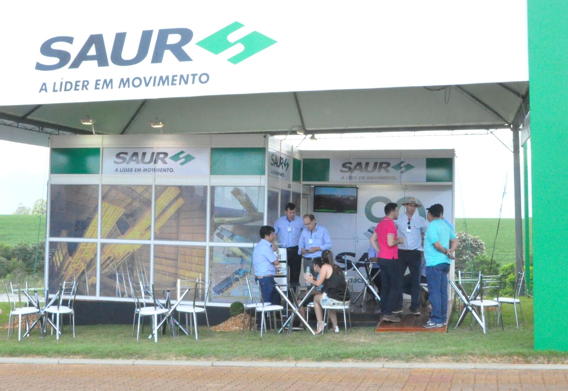 SAUR apresenta tecnologia para o recebimento de granéis na Expodireto 2017