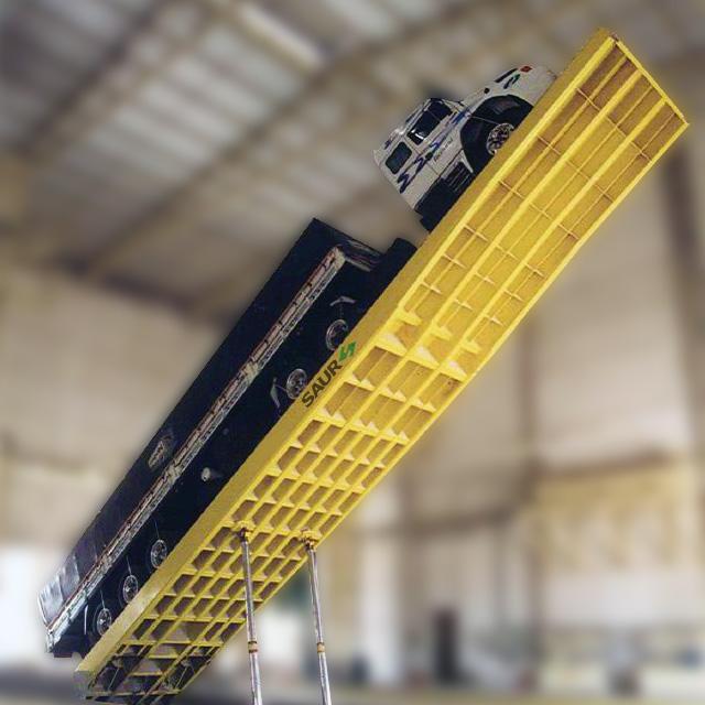 Medida Certa: Plataformas de Descarga para Granéis SAUR