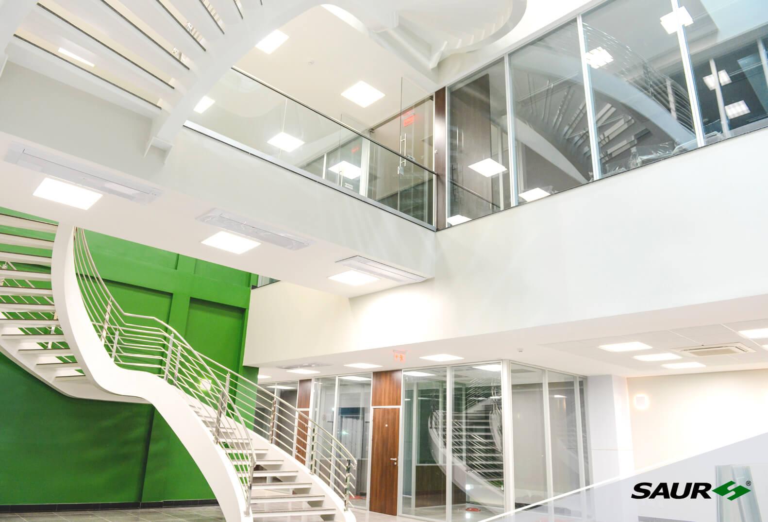 Hall de entrada do Centro Administrativo
