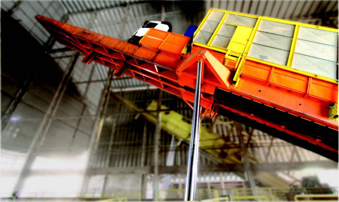 Plataforma Volcadora 30 metros