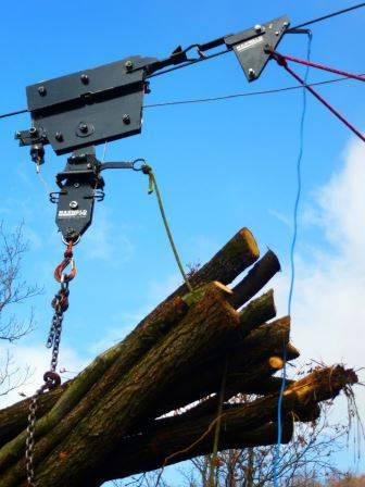Mini torre - Sistema de cabos aéreos compactos
