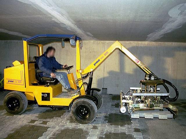 Máquina Pavimentadora VM301