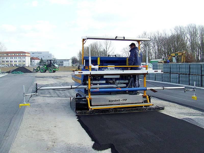 Máquina para Preparação de Terreno