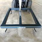 frame with eyebolts