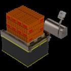 Plataforma Elevadora con Rodillo Extra Baja