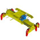 Spreader Hidráulica Telescópica