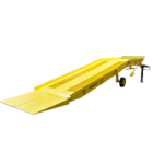 Towable Hydraulic Yard Ramp