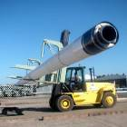 Pipe Stabilizer for Forklift